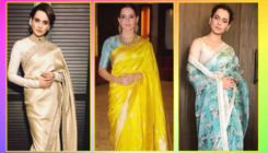 10 times fashionista Kangana Ranaut proved why she is the saree 'queen' of Bollywood