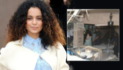 Kangana Ranaut decides to work from ruins of her demolished office; calls it symbol of woman's will
