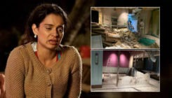 Kangana Ranaut shares pictures of her demolished office; says,
