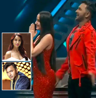 Terence Lewis slammed for touching Nora Fatehi's butt inappropriately - watch video