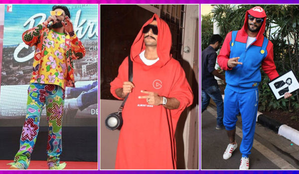 Hot Or Not! Ranveer Singh's 10 most quirky outfits of all time