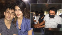 Rhea Chakraborty's brother Showik gets picked up by the Narcotics Control Bureau for procedural questioning