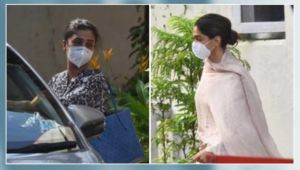 Deepika Padukone and manager Karishma Prakash leave NCB office after 5 hours of questioning- view pics