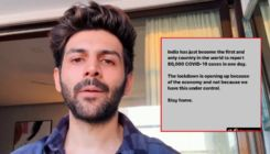 Kartik Aaryan lashes out at people being irresponsible as India records highest number of Covid-19 cases worldwide
