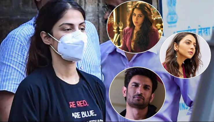 Rhea Chakraborty names Sara Ali Khan, Rakul Preet Singh and others who consumed drugs with her and Sushant Singh Rajput?