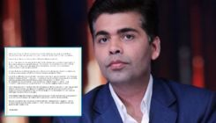Karan Johar addresses allegations of hosting a drug party; calls them false and baseless