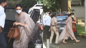 Deepika Padukone arrives at the NCB office for questioning- view pics