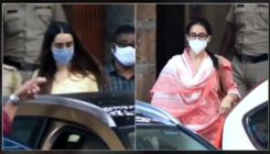 Sara Ali Khan and Shraddha Kapoor leave NCB office post questioning- watch video