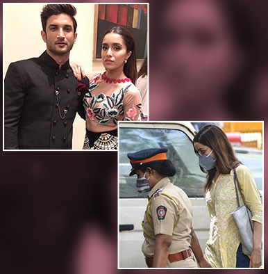 Shraddha Kapoor allegedly denies consuming drugs; admits to partying with Sushant Singh Rajput