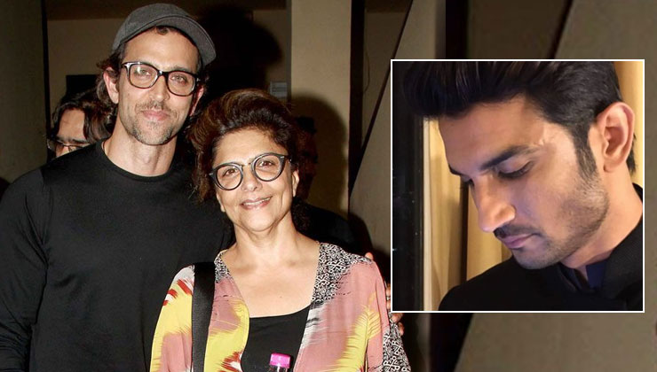 Hrithik Roshan's mother Pinkie Roshan has THIS to say on Sushant Singh Rajput's death | Bollywood Bubble