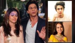 Kajol and Shah Rukh Khan had an EPIC response when asked about Nysa and Aryan eloping with each other