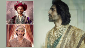 Hrithik Roshan to Ranveer Singh - Kartik Aaryan's new look reminds us of B-Town hunks who played a royal onscreen