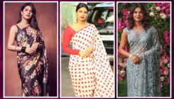 Global fashion icon Priyanka Chopra's 9 gorgeous saree looks which will make your Navratri hotter and sexier!