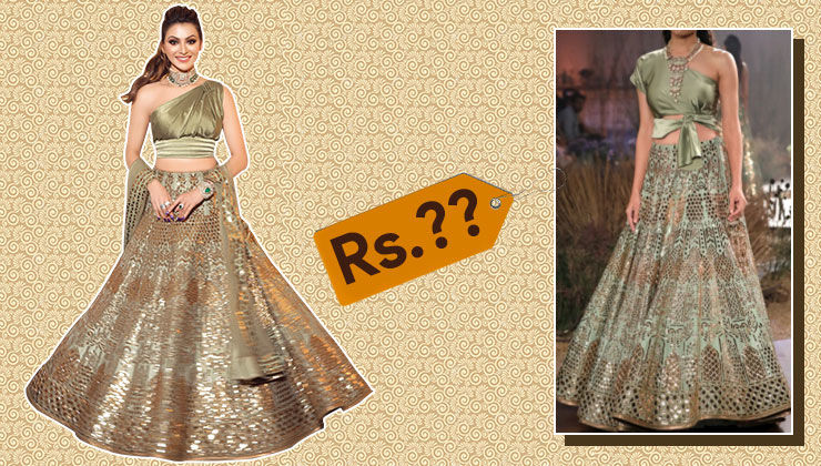 Price tag of Urvashi Rautela's look from Neha Kakkar's wedding will leave you shell-shocked