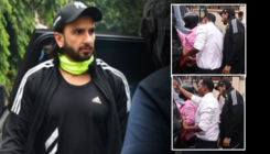 Ranveer Singh's car meets with an accident; actor steps down to inspect the damages- watch video