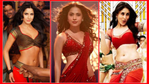 Bollywood red saree outfits