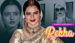 Rekha Birthday Special: Check out the ultimate fashion trends set by the timeless beauty