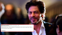 Shah Rukh Khan has an EPIC reply to a troll asking him if he will announce his next film in another 50 years