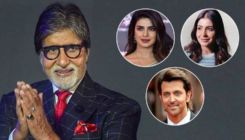 Amitabh Bachchan gets showered with birthday wishes from Priyanka Chopra, Hrithik Roshan and other B-Townies
