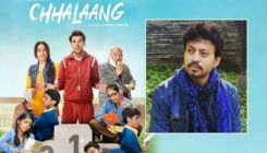 Say What! Irrfan Khan was responsible for the germ of the idea behind 'Chhalaang'