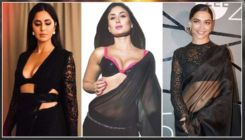 Kareena Kapoor to Katrina Kaif to Deepika Padukone - 10 black saree looks that B-Town hotties have rocked with their sheer elegance