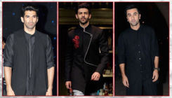 Kartik Aaryan to Ranbir Kapoor - 10 amazing black ethnic suits donned by our Bollywood hunks