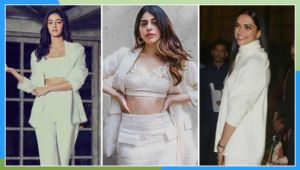 Bollywood white look