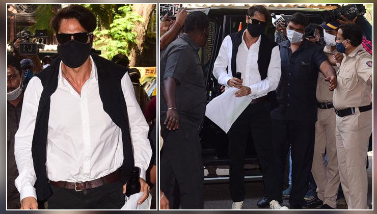 Arjun Rampal arrives at Narcotics Control Bureau office for interrogation in drugs case