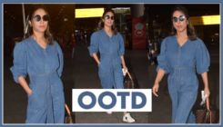 Hina Khan slays the airport look with this chic and uber cool denim outfit-view pics