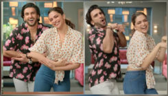 Deepika Padukone and hubby Ranveer Singh dance their heart out as they reunite on-screen after the lockdown- watch video
