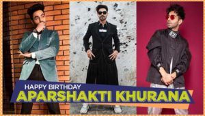 Aparshakti Khurana Birthday Special: 5 times the 'Stree' actor wowed us with his edgy and chic fashion sensibilities