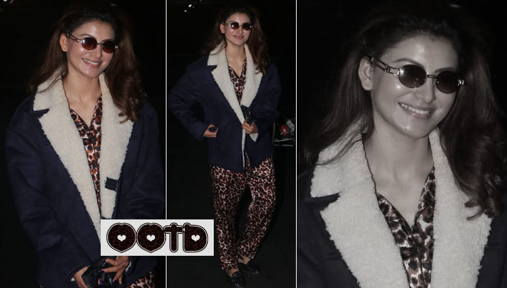 Urvashi Rautela's comfy yet fashionable leopard-print outfit is your ultimate winter look inspiration - view pics