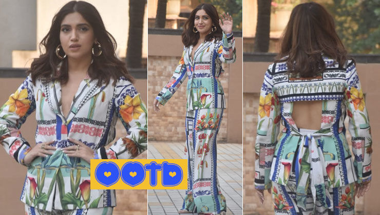Bhumi Pednekar brings back her boss lady vibes in a floral suit, but it has a twist - view pics to find out!