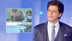Shah Rukh Khan snapped at YRF sporting a new look; fans speculate he is shooting 'Pathan'