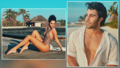 Tara Sutaria shares sizzling picture in monokini flaunting her long legs; check out beau Aadar Jain's reaction