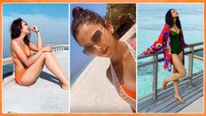 Rakul Preet Singh raises the temperature with her hot bikini bod at her Maldives vacay - view pics