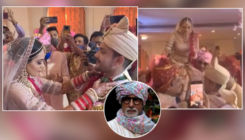 Aditya Narayan shares a hilarious video from his wedding to Shweta Agarwal; it features GOAT Amitabh Bachchan- watch
