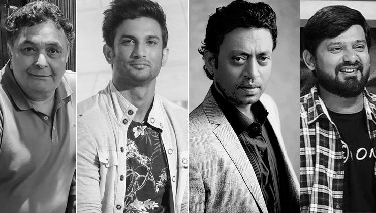 2020 Wrap Up: From Rishi Kapoor to Sushant Singh Rajput-celebs who passed away this year