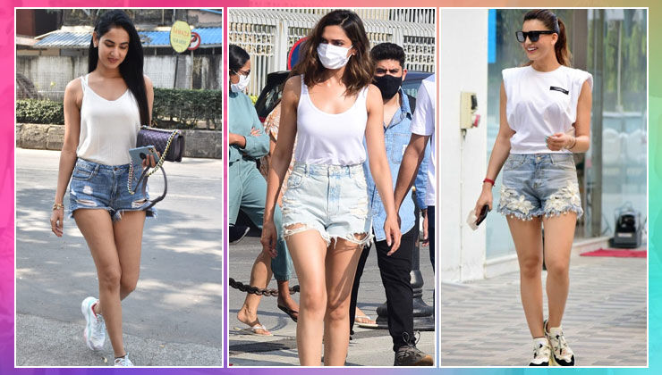 B-Town hotties, Deepika Padukone, Sonal Chauhan in identical outfits! Look who's twinning with them!