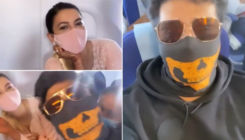 Newlywed Gauahar Khan bumps into ex-BF Kushal Tandon on flight; latter wishes her 'Shaadi Mubarak'- watch video