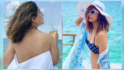 Hina Khan's topless & bikini pics from Maldives vacation take the internet by storm; check them out
