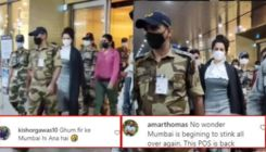 Kangana Ranaut gets trolled after she arrives in Mumbai with full security; Netizens say,