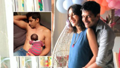 Karanvir Bohra's newborn daughter sleeping on his chest is the cutest pic on internet today