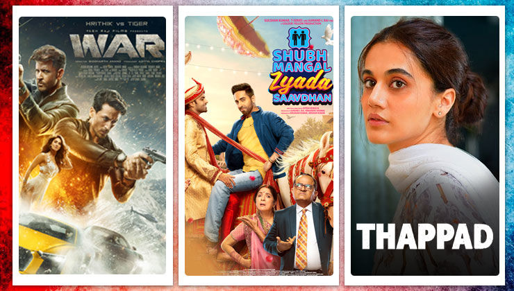 2020 Wrap Up: 'War' to 'Shubh Mangal Zyada Saavdhan' - Movies that re-released in theatres after lockdown
