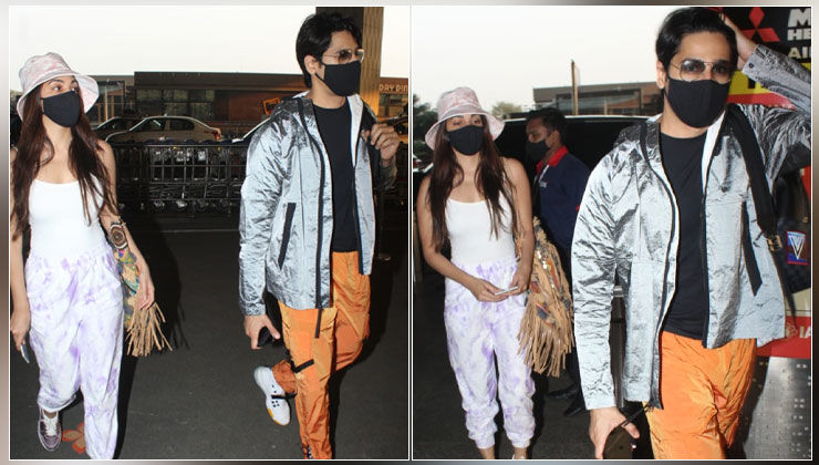Airport Diaries: Rumoured couple Sidharth Malhotra and Kiara Advani leave for New Year's vacay