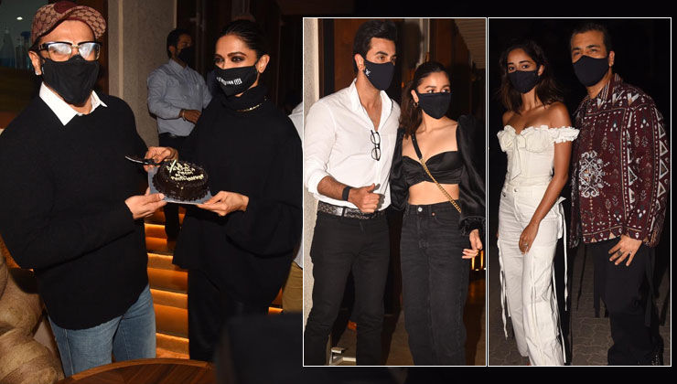 Inside Deepika Padukone's birthday bash: Ranbir Kapoor, Alia Bhatt, Karan Johar and other B-Townies attend the party hosted by Ranveer Singh- view pics
