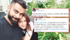 From Anuvira to Anushvi, fans suggest some cute names for Virat Kohli and Anushka Sharma's baby girl