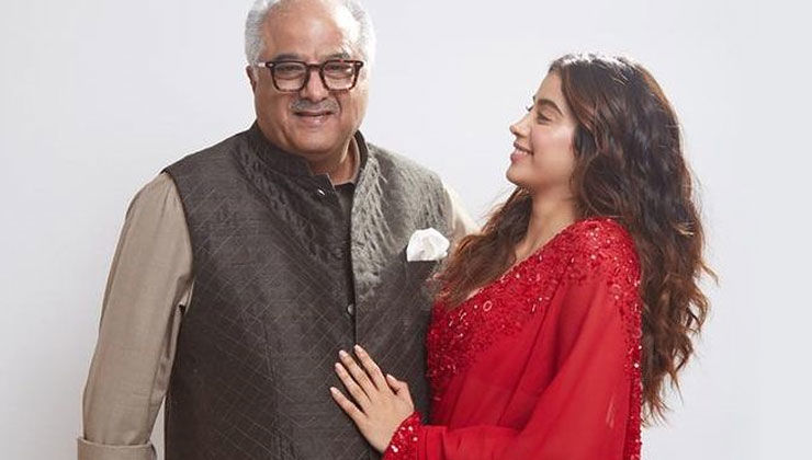 Janhvi Kapoor confesses about lying to dad Boney Kapoor about THIS thing