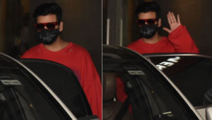 Karan Johar spotted leaving a Khar hospital; view pics