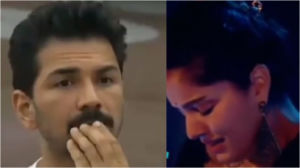 Rubina Dilaik cries as Abhinav Shukla gets schooled by Salman Khan in Bigg Boss 14